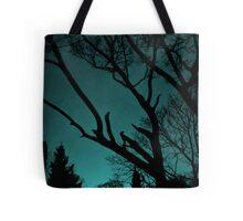 Turquise sky  Tote Bag