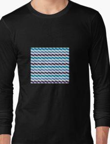 Sea Geometry mood Long Sleeve T-Shirt