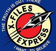 X Files Express by Zazbubble