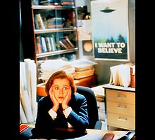 DANA SCULLY x files by Zazbubble