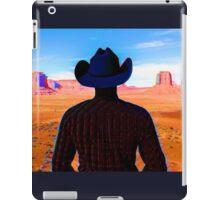 Wandering Wild West Cowboy iPad Case/Skin
