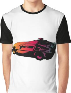 Back to the future Delorean Graphic T-Shirt