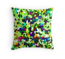 Mosaic abstract design Throw Pillow