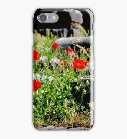 Out of destruction came life iPhone Case/Skin