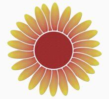 Sunflower vector art One Piece - Short Sleeve