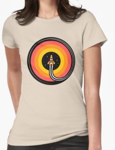 Into The Outer Womens Fitted T-Shirt