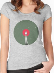 Headed to Mars Women's Fitted Scoop T-Shirt