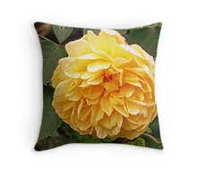 The Yellow Rose of ? Throw Pillow