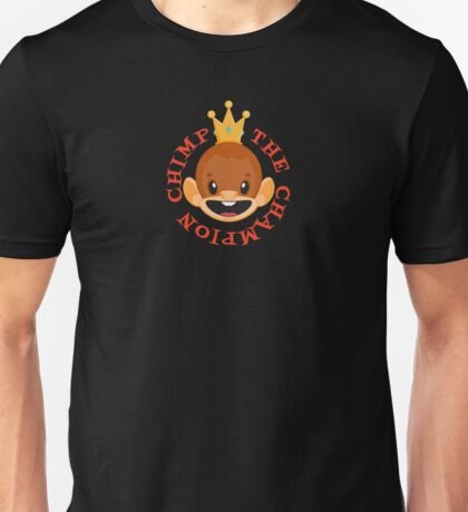 The Champion Chimp - King Unisex T-Shirt