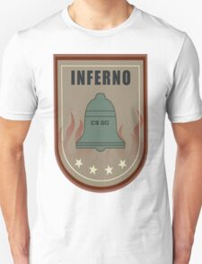 Counter strike global offensive|cs go|Inferno|Maps T-Shirt
