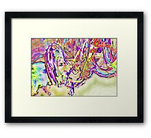 Slow Motion in an Eternal Paradox Framed Print