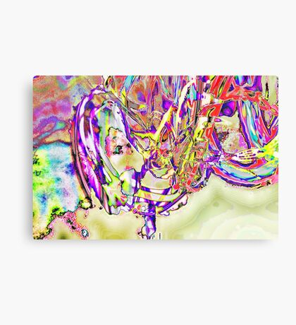 Slow Motion in an Eternal Paradox Canvas Print