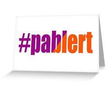 Pablert Greeting Card