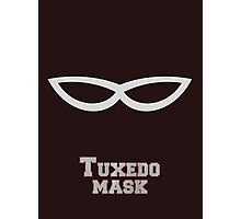 Tuxedo Mask Photographic Print
