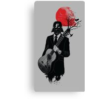 DARTH VADER GUITARIST Canvas Print