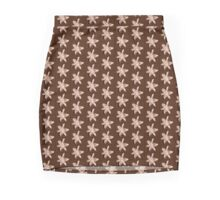 Lily in sepia Mini Skirt