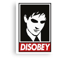 disobey peng Canvas Print