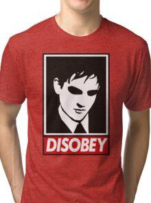 disobey peng Tri-blend T-Shirt