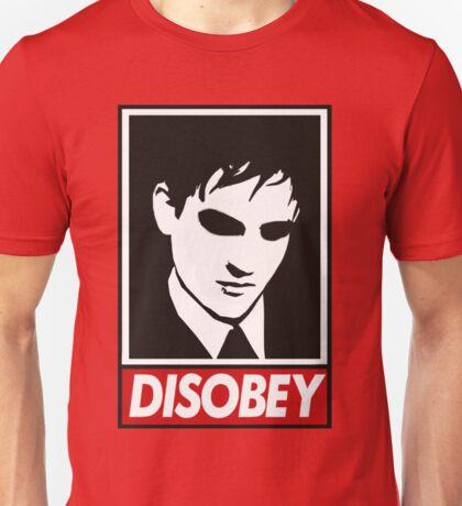 disobey peng Unisex T-Shirt