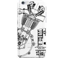 JAP V-Twin Engine  iPhone Case/Skin