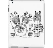 JAP V-Twin Engine  iPad Case/Skin
