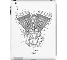 V-Twin Engine 1 iPad Case/Skin