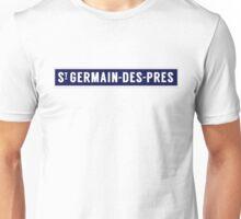 SAINT-GERMAIN-DES-PRES Metropolitain Unisex T-Shirt