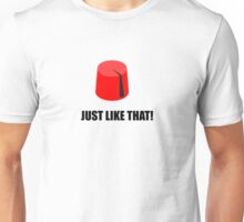 Tommy Cooper - Just Like That! Unisex T-Shirt