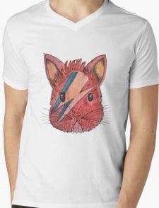 BOWIE BUNNY  Mens V-Neck T-Shirt