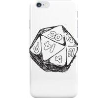 D20 Dice iPhone Case/Skin
