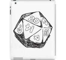 D20 Dice iPad Case/Skin
