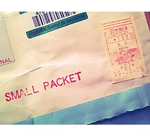 Small Packet Photographic Print
