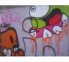 Graffiti Street Art Pop Art Photographic Print