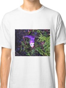 Purple Haired Decapitated Doll  Classic T-Shirt