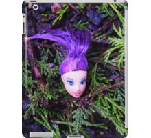 Purple Haired Decapitated Doll  iPad Case/Skin