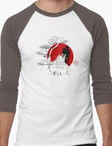 Janapese Castle Men's Baseball ¾ T-Shirt
