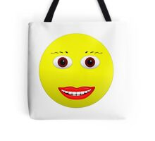 Smiley Brown Eyes Tote Bag