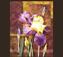 Iris Flower Decorative Artwork Unisex T-Shirt