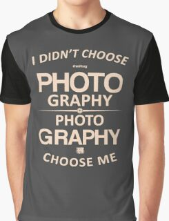 Limited - I didn't choose photography Graphic T-Shirt