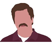 Ron F*cking Swanson by Joe  My Gosh