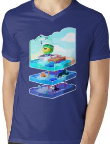 Let's go on an adventure Mens V-Neck T-Shirt