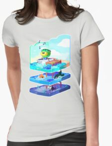 Let's go on an adventure Womens Fitted T-Shirt