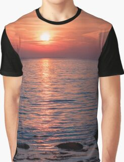 Scenic Setting Graphic T-Shirt