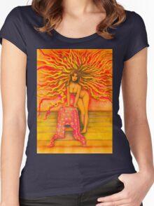 Sun Girl Women's Fitted Scoop T-Shirt