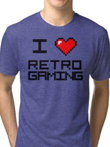 I <3 Retro Gaming Tri-blend T-Shirt