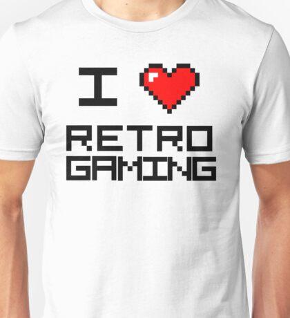 I <3 Retro Gaming Unisex T-Shirt