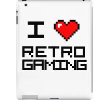 I <3 Retro Gaming iPad Case/Skin