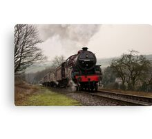 Steam Train on the East Lancs Railway Canvas Print