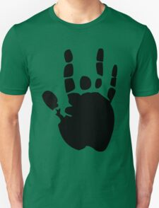 Black Grateful Dead Jerry Garcia Hand funny nerd geek geeky T-Shirt