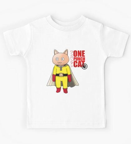 One Punch-Cat Kids Tee